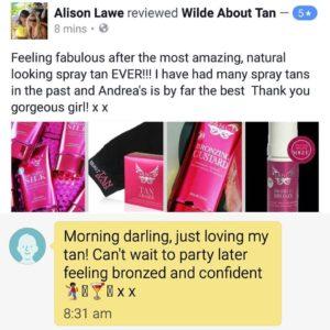 Alison testimonial