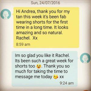 Rachel testimonial text